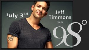 Jeff Timmons 98Degrees